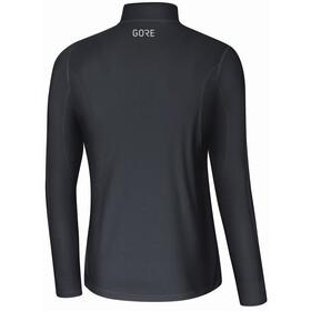 GORE WEAR R3 Camiseta Manga Larga Cremallera Hombre, negro